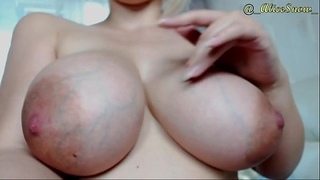 Alice snow with astonishing large milky breasts