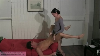 Step sister copulates his a-hole lance hart michelle peters (pantyhose leotard)
