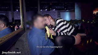 Jeny smith goes bare at sex party