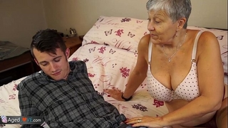 Old cheating wife savana drilled by student sam bourne