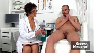 Cfnm tugjob at hospital feat. nylons slutty wife danielle